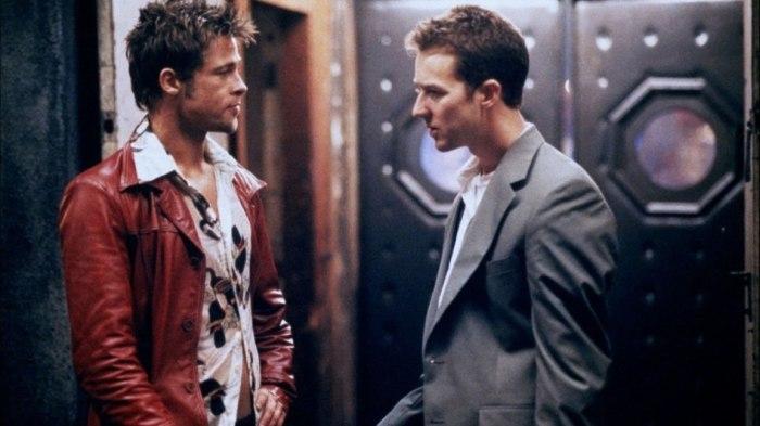Кадр из фильма «Бойцовский клуб».
