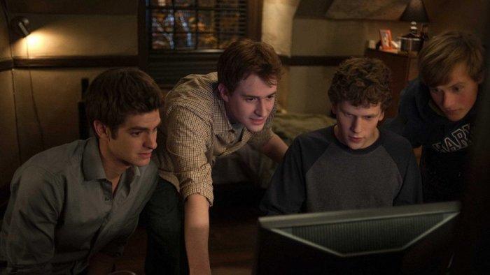 Кадр из фильма «Социальная сеть», 2010