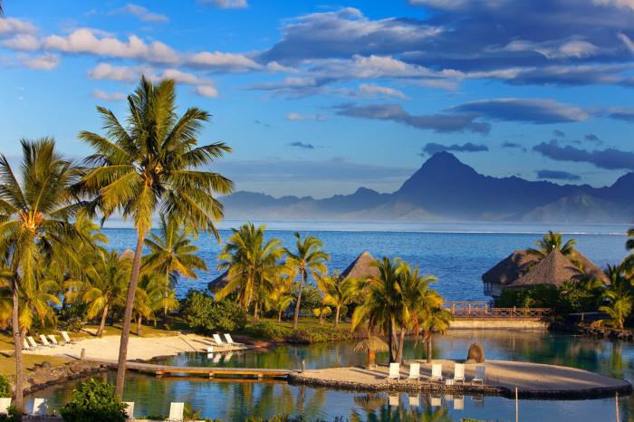 Маркизские острова Французской Полинезии.