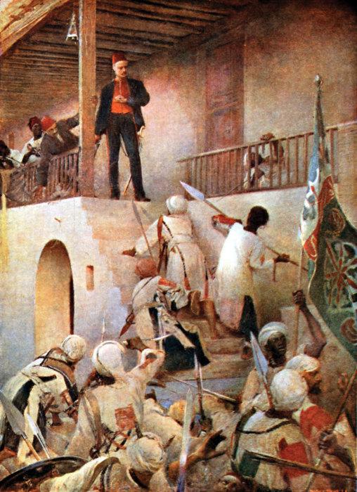 Последний бой Гордона. / Фото: cdn.britannica.com