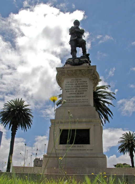 Памятник Гордону. / Фото: ru.wikipedia.org