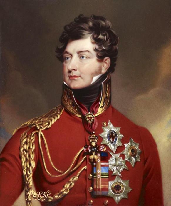 Георг IV - жених, заключивший «подходящий» брак.