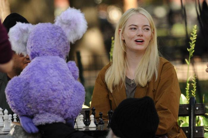 Эмма Стоун в сериале «Маньяк».