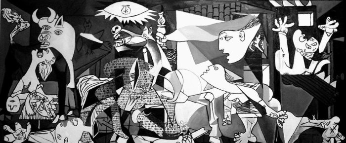 «Герника», 1937, Пабло Пикассо