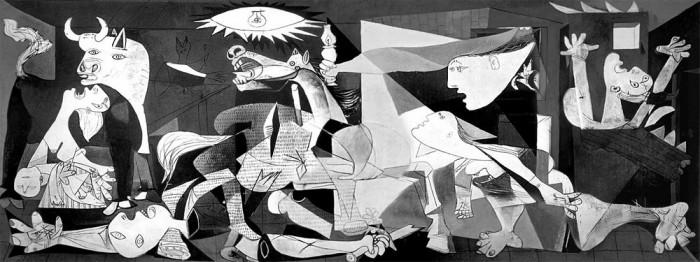 Герника (1937). Пабло Пикассо