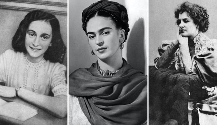 Известные женщины, которые вели дневники.