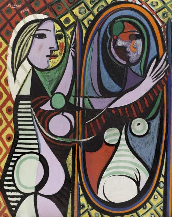 Пабло Пикассо. Девочка перед зеркалом.