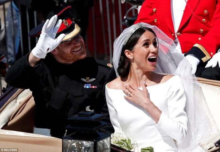 Принц Гарри со своей невестой Меган Маркл.