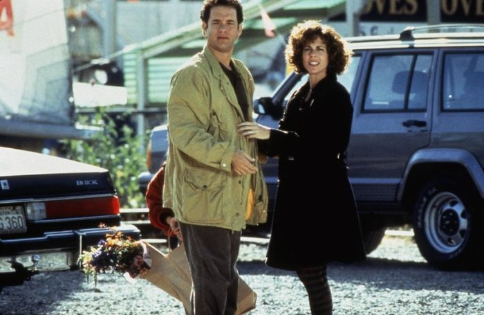 Кадр из фильма «Неспящие в Сиэтле». 1993 год.