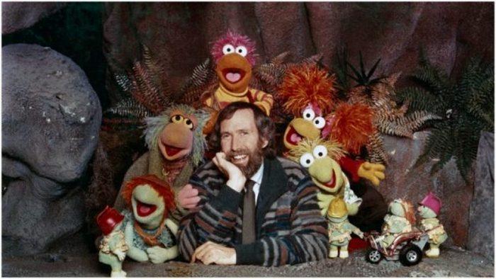 Джим Хенсон и его персонажи.