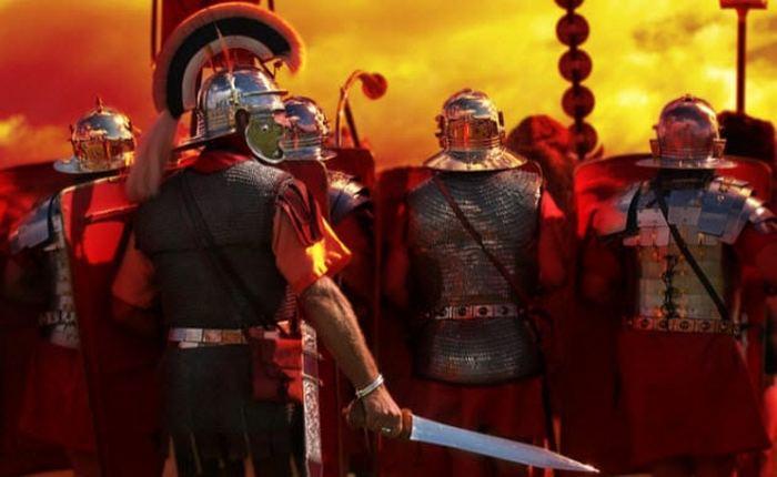 Христиане и римская армия.