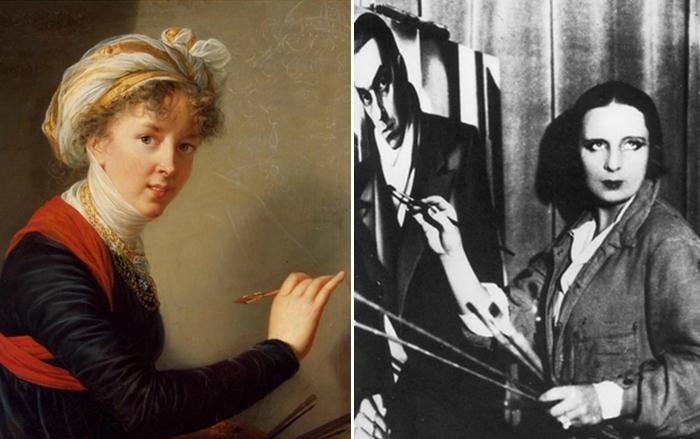 Новаторы, придворные портретистки и скандальные особы
