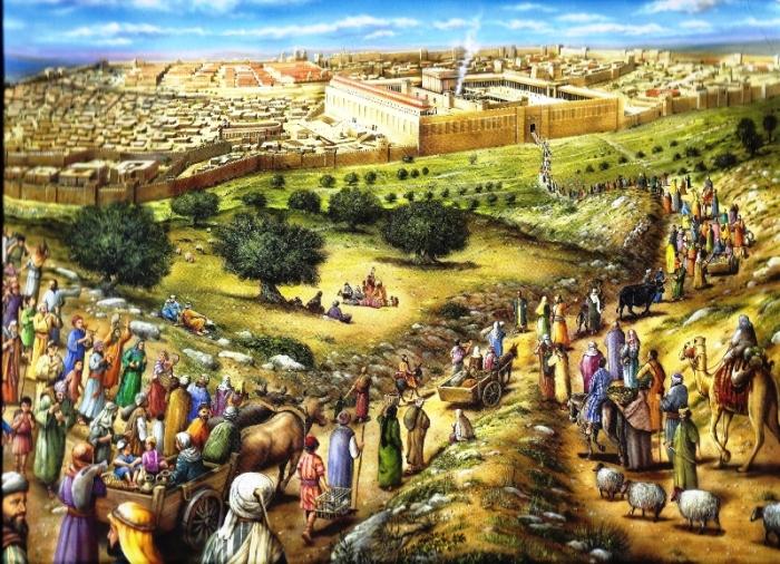 Иерусалим в Хасмонейский период.