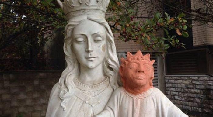 Украденная голова Иисуса.