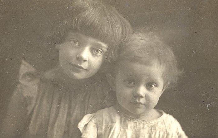 Дочери Цветаевой и ЭФрона.