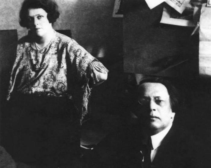 Наталья Крандиевская и Алексей Толстой.