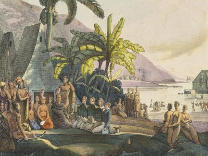 Полинезия -место, где родственные браки считались священными.