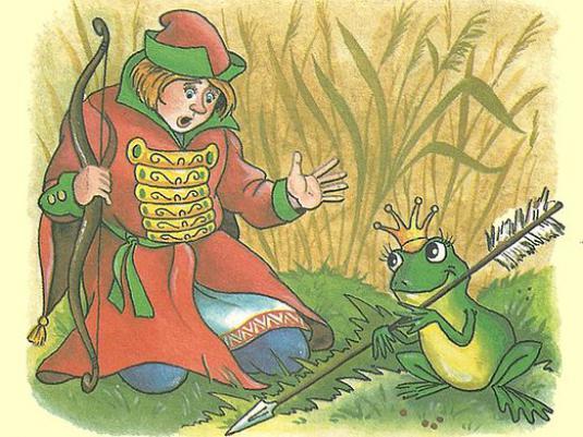 Иллюстрация к сказке «Царевня-лягушка».