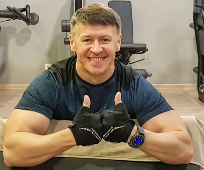 Юморист Сергей Исаев.