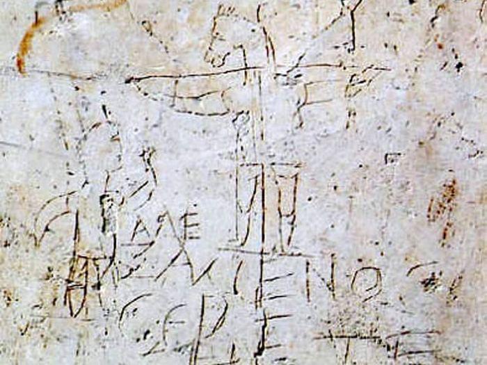 Граффито Алексаменоса.