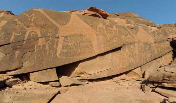Аравийская пустыня была цветущей саванной.