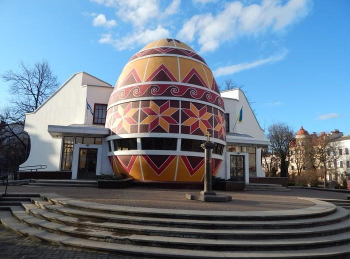 Музей писанки в Ивано-Франковской области.