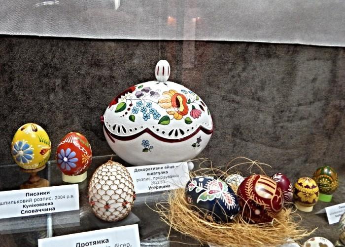 Писанки из коллекции музея в Коломые.
