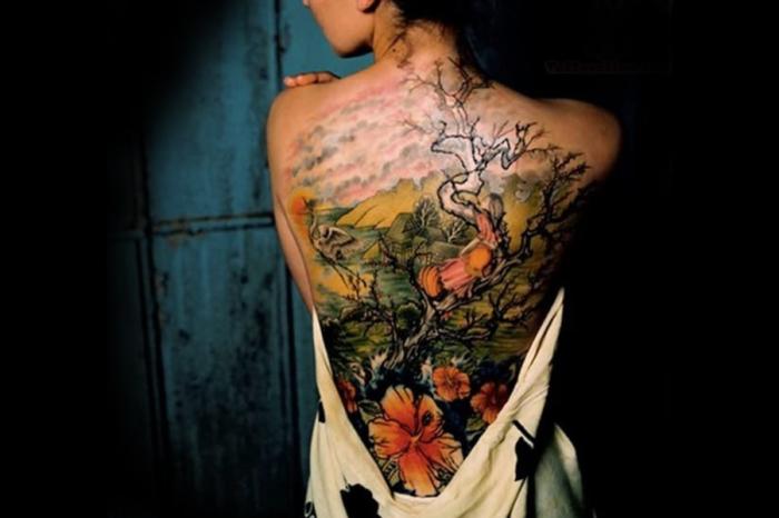 Японские татуировки с тысячелетней историей.