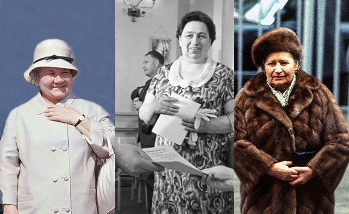 Нина Хрущёва, Виктория Брежнева, Анна Черненко.
