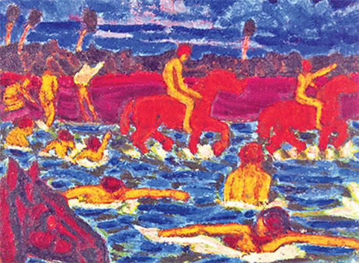 Красные кони. Сергей Калмыков.