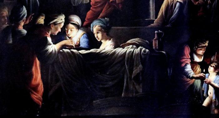 Фрагмент картины Карло Сарачени.