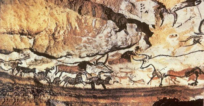 Наскальные рисунки в пещере Ласко. 17 000 лет назад