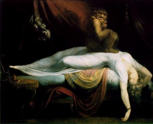 Ночной кошмар. Иоганн Генрих Фюссли