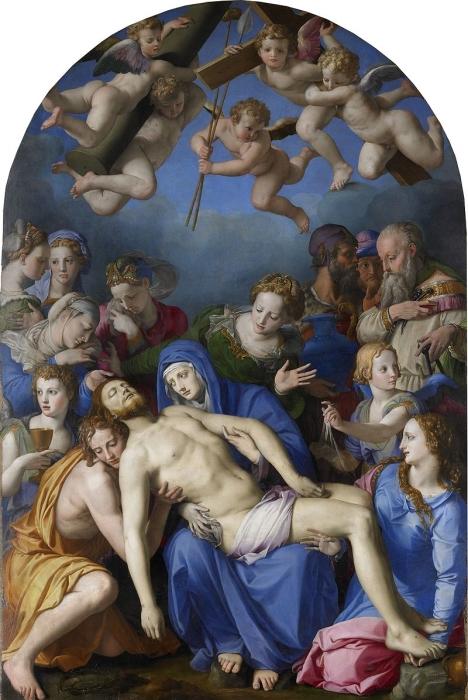 Descendimiento de Cristo (c. 1540-1545), Bronzino.