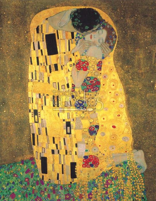 Поцелуй. Густав Климт