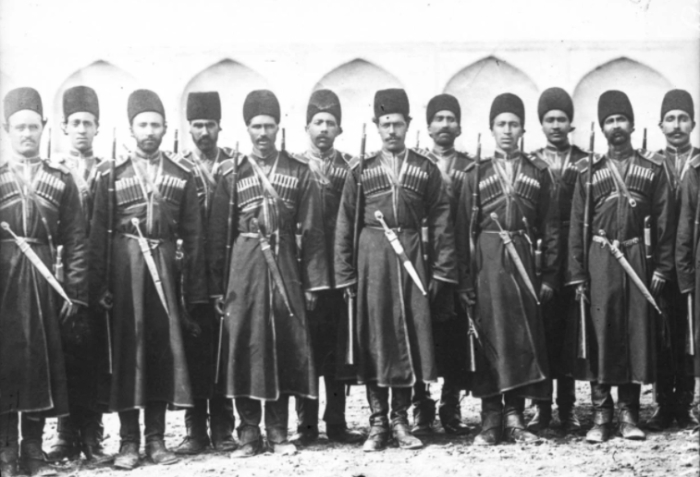 Казаки персидского шаха.
