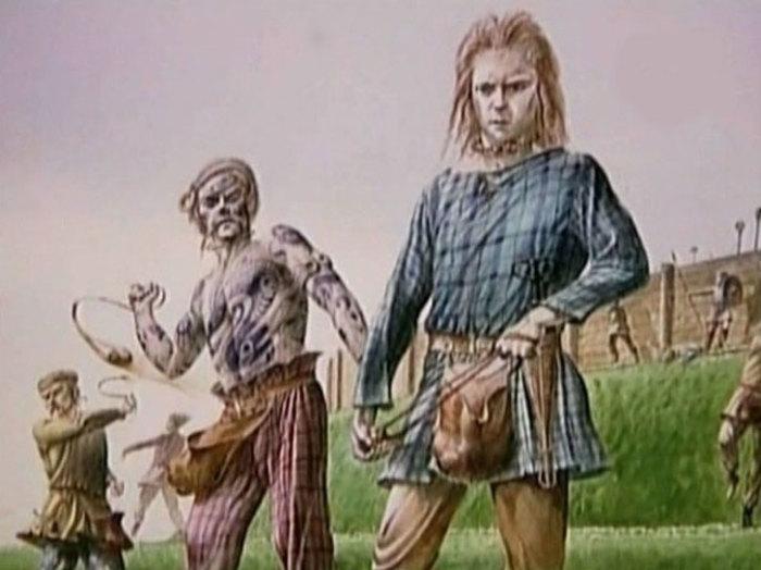 Кельтские подростки.