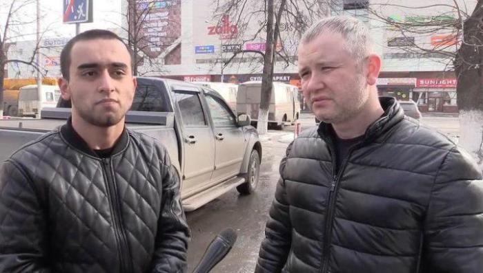 Махмуд Художаев и Фарзон Салилов.