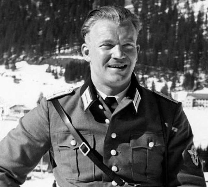 Шеф-командир первой роты капитан полиции Ганс Вельке.