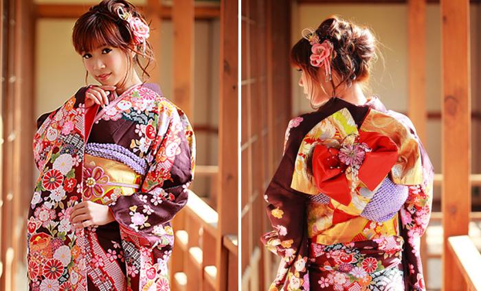 Современные кимоно: Живая традиция Японии.