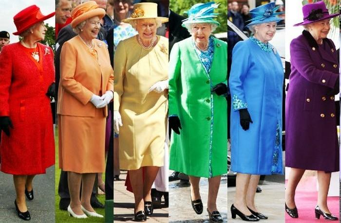 Не заметить королеву просто невозможно.