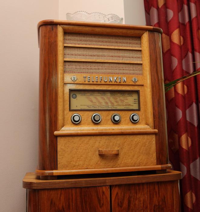 Радиола Telefunken из коллекции С. Королева.