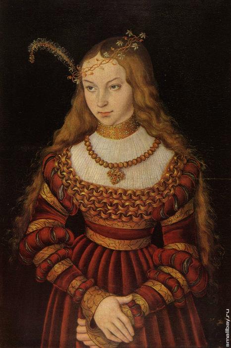 «Принцесса Клевская» Лукаса Кранаха.