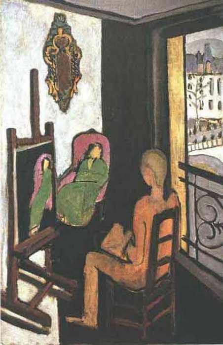«Женщины у окна» (1926) Ди Кавальканти