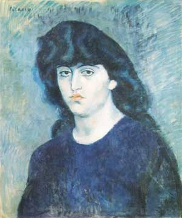 «Портрет Сюзанны Блох» Пикассо.