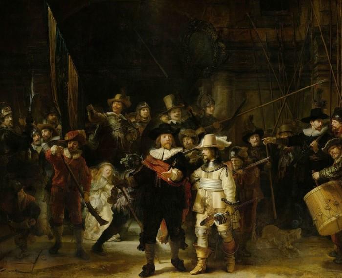«Ночной дозор», Рембрандт.