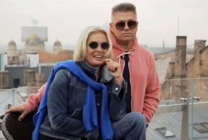 Лайма и Андрей.