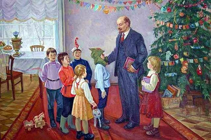 Новый год для партийной элиты в СССР.