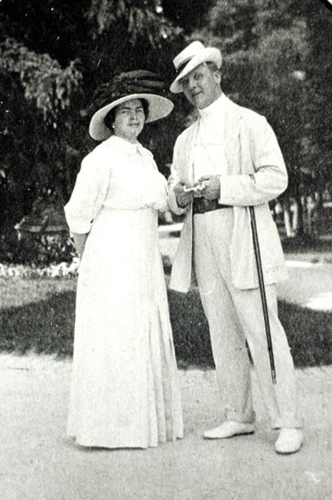 Федор Шаляпин и Мария Петцольд.