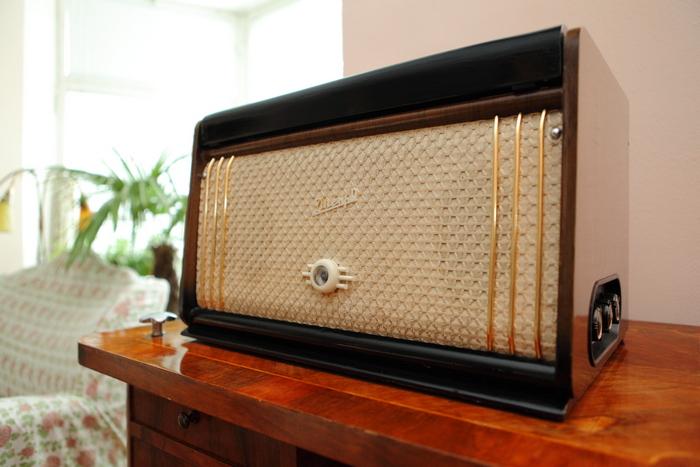 Магнитофон «Днепр-9» из коллекции С. Королева.